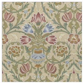 William Morris Brocade Floral Pattern Fabric