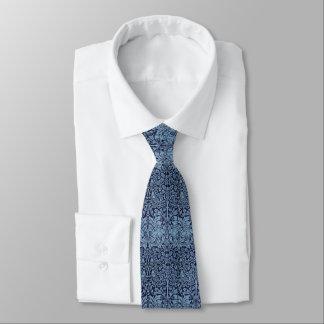 William Morris Brother Rabbit Blue Victorian Era Tie