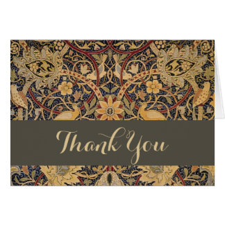 William Morris Bullerswood Custom Thank You Card