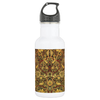 William Morris Bullerswood Tapestry Floral Art 532 Ml Water Bottle