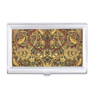 William Morris Bullerswood Tapestry Floral Art Business Card Holder