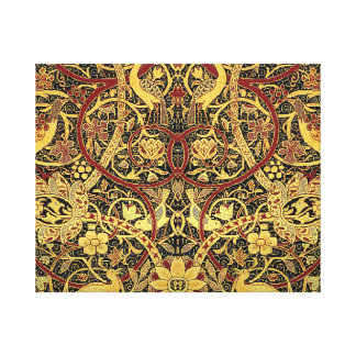 William Morris Bullerswood Tapestry Floral Art Canvas Print