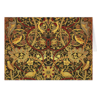 William Morris Bullerswood Tapestry Floral Art Card