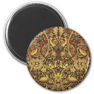 William Morris Bullerswood Tapestry Floral Art Magnet