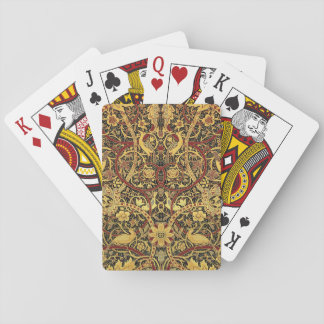 William Morris Bullerswood Tapestry Floral Art Playing Cards