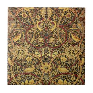 William Morris Bullerswood Tapestry Floral Art Tile
