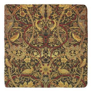 William Morris Bullerswood Tapestry Floral Art Trivet