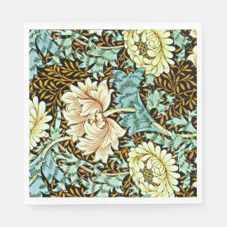 William Morris - Chrysanthemum Pastels Paper Napkins