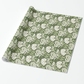 William Morris - Chrysanthemum pattern Wrapping Paper