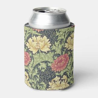 William Morris Chrysanthemum Vintage Floral Art Can Cooler