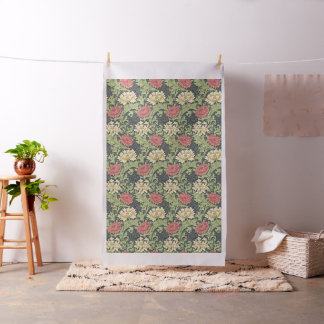 William Morris Chrysanthemum Vintage Floral Art Fabric