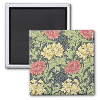 William Morris Chrysanthemum Vintage Floral Art Magnet