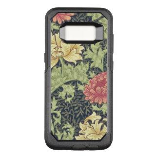 William Morris Chrysanthemum Vintage Floral Art OtterBox Commuter Samsung Galaxy S8 Case