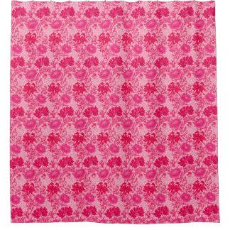 William Morris Chrysanthemums, Fuchsia Pink Shower Curtain