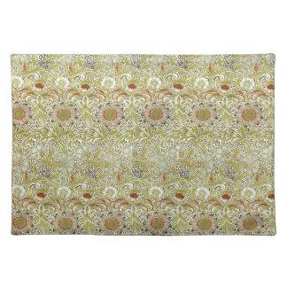 William Morris Corncockle Pattern Placemats