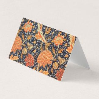 William Morris Cray Floral Art Nouveau Pattern Place Card