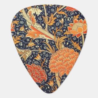 William Morris Cray Floral Art Nouveau Pattern Plectrum