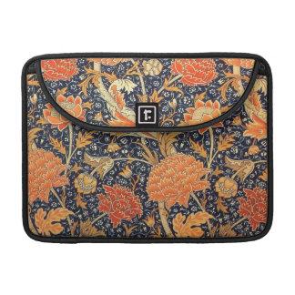 William Morris Cray Floral Art Nouveau Pattern Sleeve For MacBooks