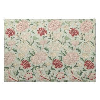 William Morris Cray Floral Pre-Raphaelite Vintage Placemats