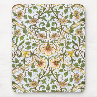 William Morris Daffodil Floral Pattern Mousepad
