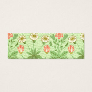 William Morris Daisy Pattern Mini Business Card