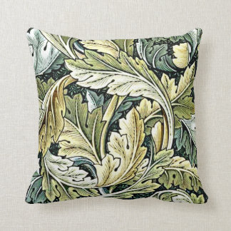 William Morris design: Acanthus leaf pattern Throw Pillow