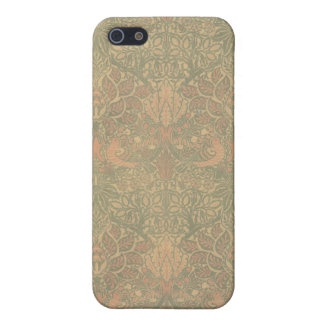 William Morris Dove and Rose Pattern Case For iPhone 5/5S