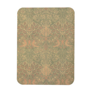 William Morris Dove and Rose Pattern Flexible Magnet