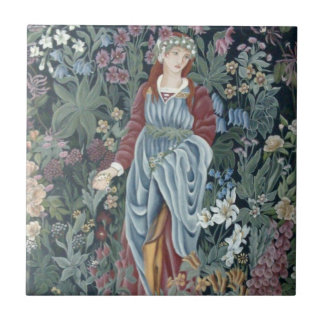 William Morris Flora Ceramic Tile