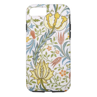 William Morris Flora Vintage Floral Art Nouveau iPhone 7 Case