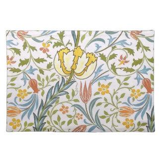 William Morris Flora Vintage Floral Art Nouveau Place Mat