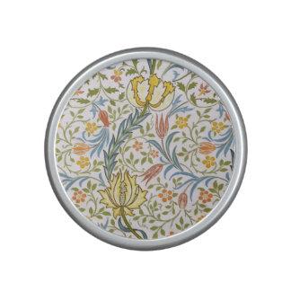 William Morris Flora Vintage Floral Art Nouveau Speaker