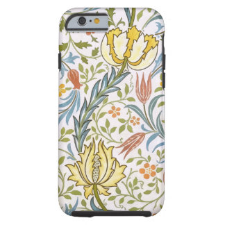 William Morris Flora Vintage Floral Art Nouveau Tough iPhone 6 Case