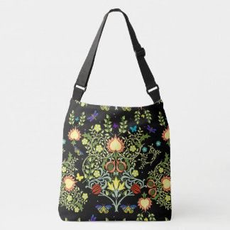 William Morris Floral Crossbody Bag