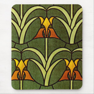 William Morris Floral Design - Mousepad