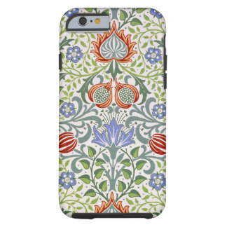 William Morris Floral Persian Vintage Pattern Tough iPhone 6 Case
