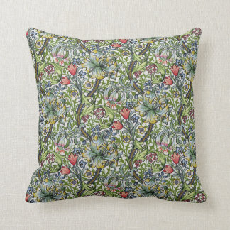 William Morris Golden Lily Floral Chintz Cushion