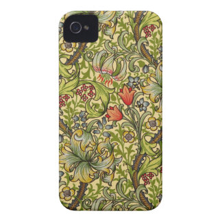 William Morris Golden Lily iPhone 4 Cases