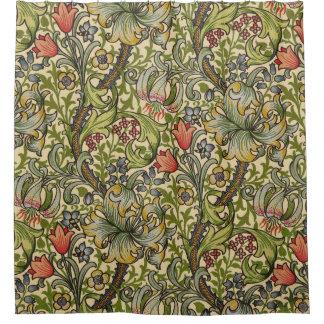 William Morris Golden Lily Shower Curtain
