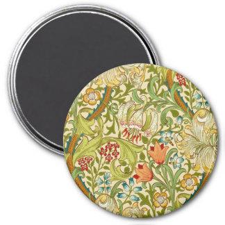 William Morris Golden Lily Vintage Pre-Raphaelite Magnet