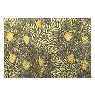 William Morris grapes pattern Placemat