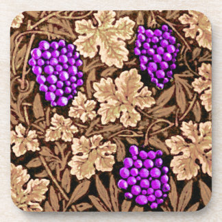 William Morris Grapevine, Brown and Purple Coaster