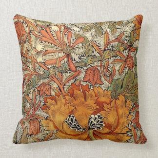 William Morris Honeysuckle Cushion