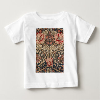 William Morris Honeysuckle Vintage Pattern Baby T-Shirt