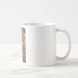 William Morris Honeysuckle Vintage Pattern Coffee Mug