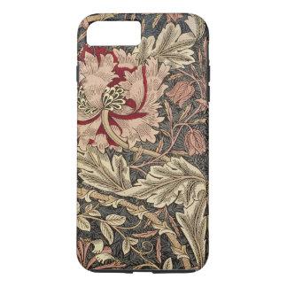 William Morris Honeysuckle Vintage Pattern iPhone 8 Plus/7 Plus Case