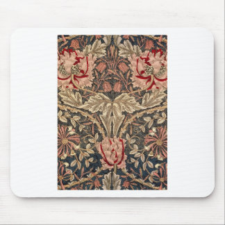 William Morris Honeysuckle Vintage Pattern Mouse Pad