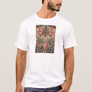 William Morris Honeysuckle Vintage Pattern T-Shirt
