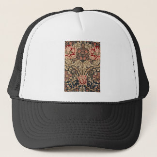 William Morris Honeysuckle Vintage Pattern Trucker Hat