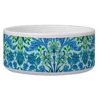 William Morris Hyacinth Print, Cerulean Blue